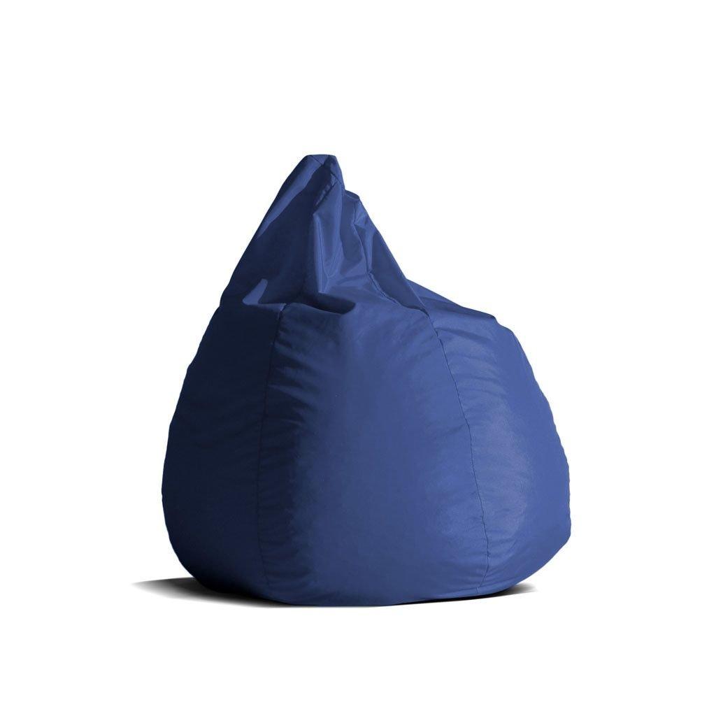 Avalon Pouf Poltrona Sacco Media BAG L Jive tessuto tecnico antistrappo Blu Royal imbottito product image