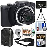 Minolta MN22Z 1080p 22x Zoom Wi-Fi Digital Camera (Black) with 8GB Card + Case + Mini Tripod + Kit