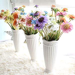 10PCS Artificial Flower Simulation Orchid Daisy Gerbera Flowers for Wedding Bridal Bouquets Home Party Event Table Decorative,2 58