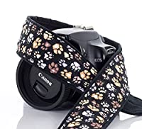 Paw Print Camera Strap 244, dSLR, SLR or Mirrorless Cameras