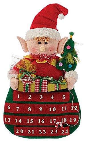 [해외]커트 애들러 20 Fabric Elf Advent Calendar/Kurt Adler 20  Fabric Elf Advent Calendar