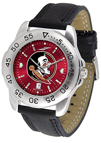 Linkswalker Mens Florida State Seminoles Sport Anochrome Watch