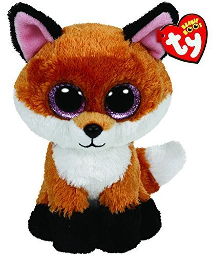 Ty Beanie Boos Buddies Slick the Fox - Medium