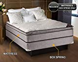 """Product review for Spinal Dream Plush Pillow Top (Eurotop) Queen 60""""x80""""x12"""" Mattress and Box Spring set - Sleep System with Enhanced Cushion Support, Assembled by Dream Solutions USA"""