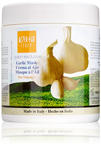 Alter Ego Italy Garlic Mask Hot Oil Treatment with Garlic, 33.8 Ounce (Hair Ego Alter Care)