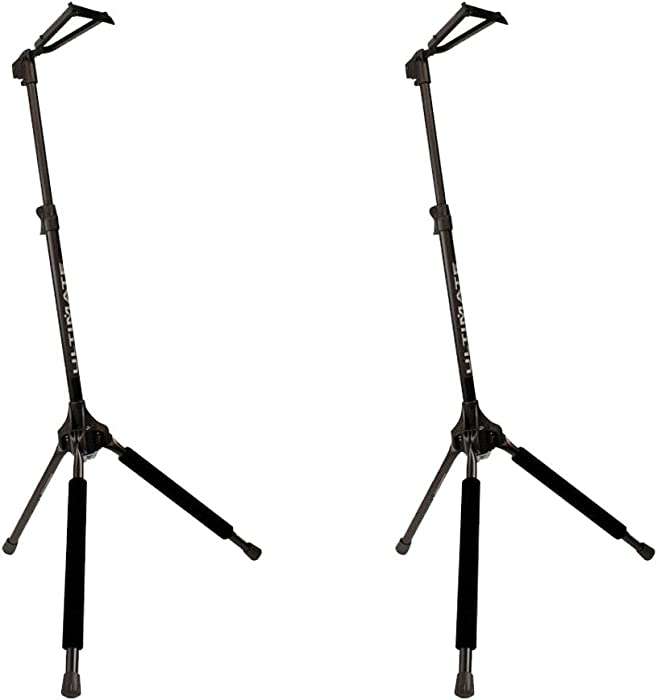 The Best Amazonbasics Tripod Guitar Stand With Security Strap