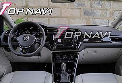 TOPNAVI 10.1 pouce Quad Core Auto Radio pour VW Touran L 2016 2017 2018 Android 7.1 Voiture St/ér/éo Auto Navigation GPS avec 16 Go de ROM 1 Go de ROM WIFI 3G RDS Lien Miroir FM AM Bluetooth Audio Vid/éo