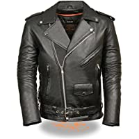 Milwaukee Leather Mens Classic Side Lace Police Style...