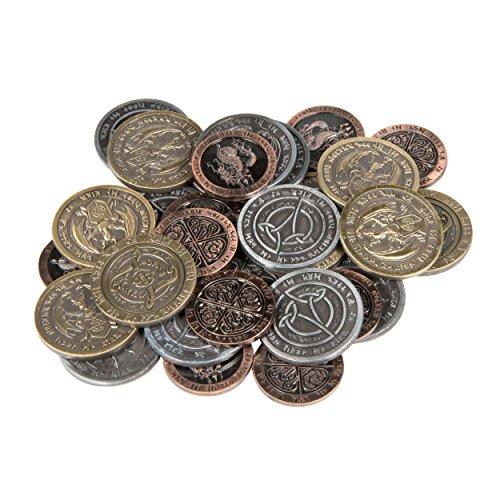Metal Coin (Fantasy Coins - Fire (30))