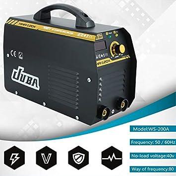 Yogasada MMA-120 IGBT Electrodos inversor máquina de Soldadura eléctrica Profesional máquina de Soldadura MMA Weldering Equipo zócalo de la UE: Amazon.es: ...