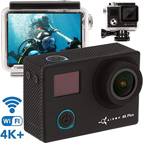 Premium 4K Action Camera - New 2019 HD Sports Camera Kit - WiFi Live Action Cam - 16MP Sony Sensor 1080p - Mini Action Camera - Small Sport Camera with Remote Control & Case - 2 Battery Included