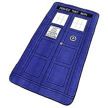 Doctor Who: Large Doctor Who TARDIS Micro Raschel Throw