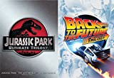 Jurassic Park & Back to the Future Ultimate Trilogy DVD Set Steven Spielberg Collection 10 Disc