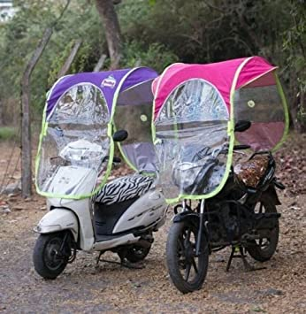Shopping Tadka Folding Waterproof Windproof Electric Bike Umbrella Canopy  Cover: Amazon.in: Car & Motorbike