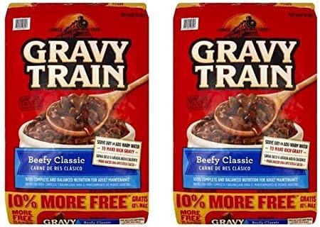Gravy Train Beef Classic Bonus Dry Dog Food, 15.4 Lb (Pack of 2)