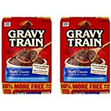 Gravy Train Beef Classic Bonus Dry Dog Food, 15.4 Lb (Pack of 2)