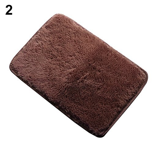 Rugs Anti-Skid Shaggy Area Rug Home Color Coffee