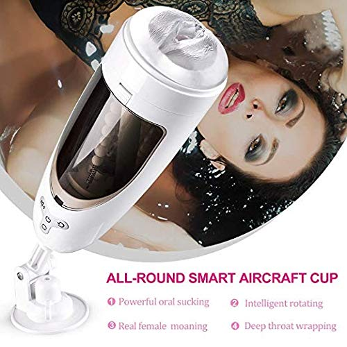 QJFFJ- Mästurbators Cup Personal Stimulating Total Automatic Men Cup Sǚcking Electronic Man's Toy Miniskirt Massage Cup Training Kit for Men