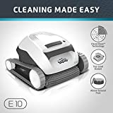 Dolphin E10 Automatic Robotic Pool Cleaner with Easy to Clean Top Load...
