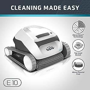 Amazon Com Dolphin E10 Automatic Robotic Pool Cleaner