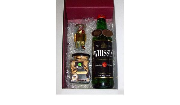 Caja de whisky sin alcohol Whissin 700 ml + coctel frutos ...