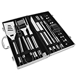 Sunba Youth BBQ Tool Set, BBQ Tools, Stainless Steel Barbecue Sets, Heavy Duty