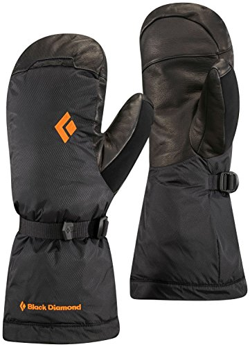 - Black Diamond Absolute Mitts Cold Weather Gloves, Black, X-Small