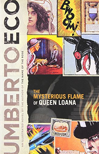 Book cover for The Mysterious Flame of Queen Loana