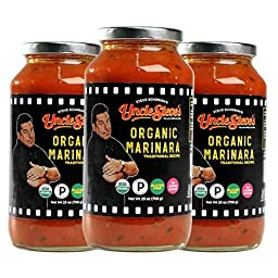 Tomato Sauce by Uncle Steve\'s - (Marinara) for Spaghetti, Pasta or Pizza