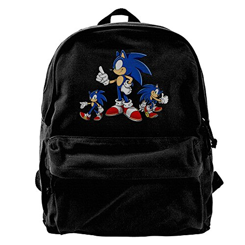 Sonic The Hedgehog Art Assets GameCanvas Backpack Daypack (Sonic The Hedgehog Basic Party Pack)