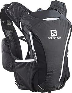 Salomon Skin Pro 10+3 Set Hydration Pack, Bright Red/White