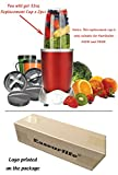 Replacement Cup for Nutribullet Replacement Parts 32oz for Nutri Bullet 600W and 900W, Pack of 2