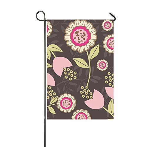 YIJIEVE Home Decorative Outdoor Double Sided Flowers Floral