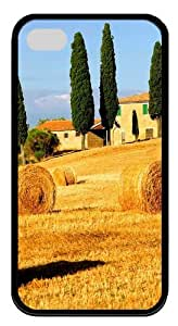 iPhone 4S/4 Case Cover - Italy Landscape Cool Design TPU Black Case for Apple iPhone 4s and iPhone 4