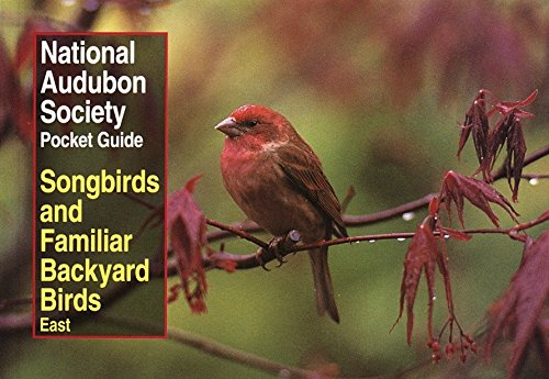 National Audubon Society Pocket Guide to Songbirds and Familiar Backyard Birds: Eastern Region (National Audubon Society Pocket Guides)