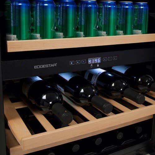 EdgeStar CWB8420DZ 24 Inch Built-In Wine and Beverage Cooler