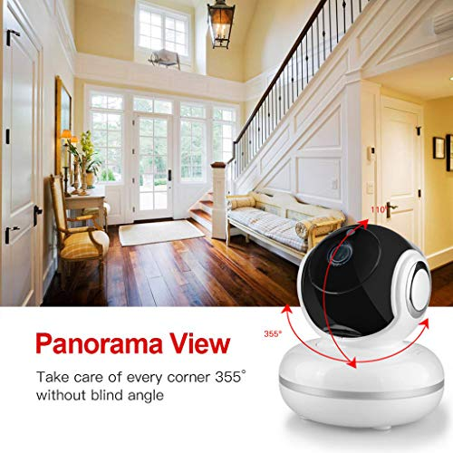 ️ Yu2d ❤️❤️ ️HD 1080P WiFi Security IP Camera Wireless 2-Ways Audio CCTV Camera Baby Monitor