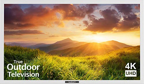 SunBriteTV Outdoor 43-Inch Signature 4K Ultra HD LED TV - SB-S-43-4K-WH