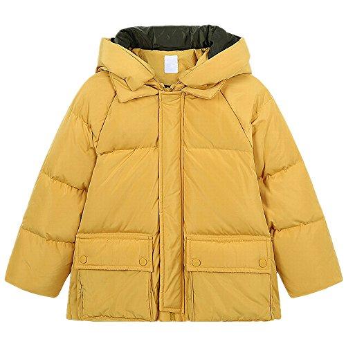 QJH New Pattern Boys Girls Fashion Down Coat Childrens' Puffer Hoody Jacket by QJH (Image #1)