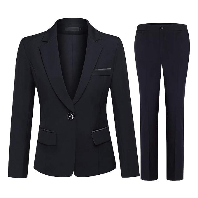 Amazon.com: Conjunto de 2 piezas de ropa de oficina para ...