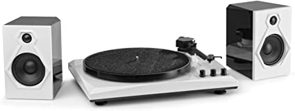 FENTON RP-160BW Giradiscos y Receptor Bluetooth B/N 102133: Amazon ...