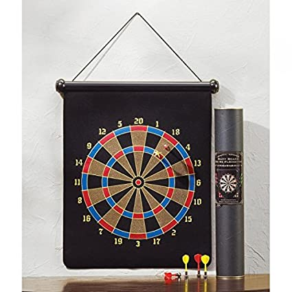Delicieux Games MAGNETIC DART BOARD New Gift Den Bar Office Room Student Darts Fun  Safe