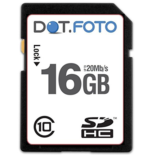 - Dot.Foto 16Gb SDHC Class 10 High Speed 20Mb/s Card for Panasonic Lumix DMC-TZ Cameras [See Description for Compatibility]