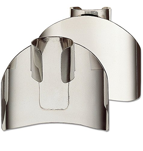 Deglon 2-Inch Finger Guard Digiclass, Stainless Steel
