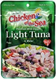 Chicken of the Sea Tuna Premium Light, 2.5-Ounce Pouch (Pack of 12)