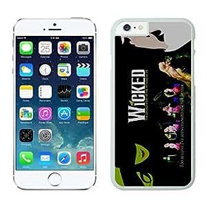 NEW DIY Unique Designed Case For iphone 6 plus Wicked Musical 1 iphone 6 plus White 5.5 TPU inch Phone Case 438