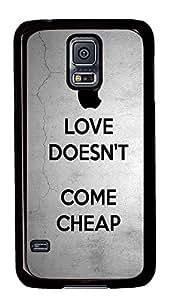 design Samsung Galaxy S5 covers Keep Calm Love Quotess PC Black Custom Samsung Galaxy S5 Case Cover wangjiang maoyi by lolosakes