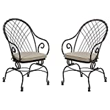 Jaclyn Smith Spring Valley Motion Bistro Chairs Review