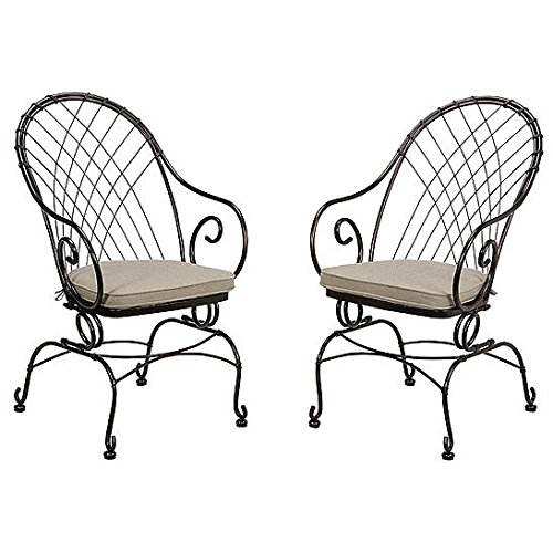 Jaclyn Smith Spring Valley Motion Bistro Chairs
