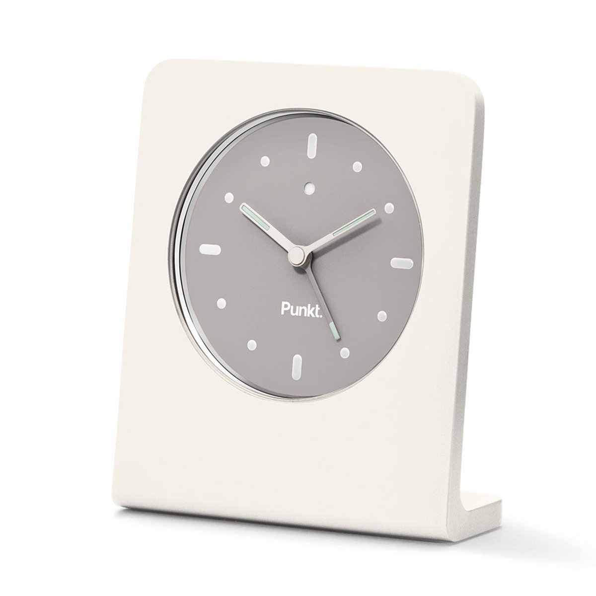 Punkt. AC01 Alarm Clock by Jasper Morrison - White